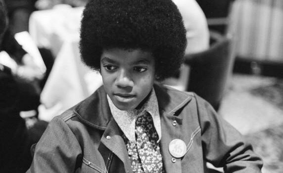 Michael jackson at Jacksons London November 1972