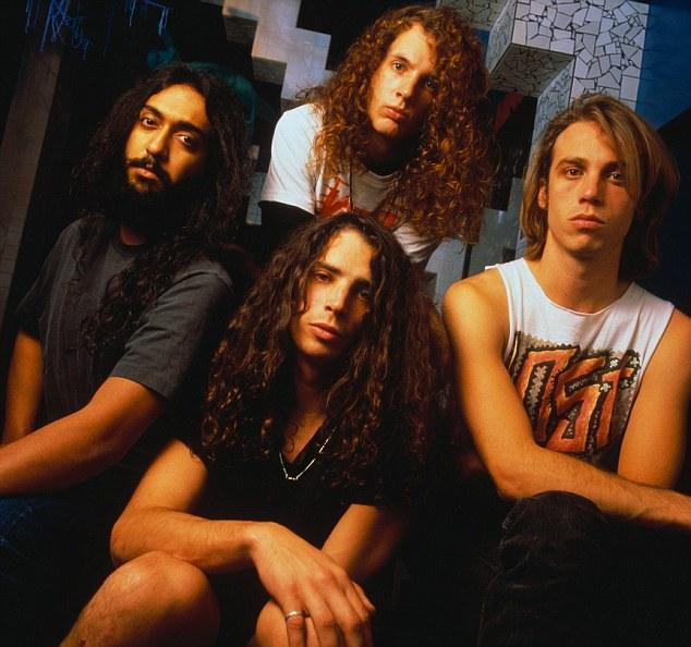 Chris Cornell, Kim Thayil, Jason Everman and Matt Cameron of Soundgarden